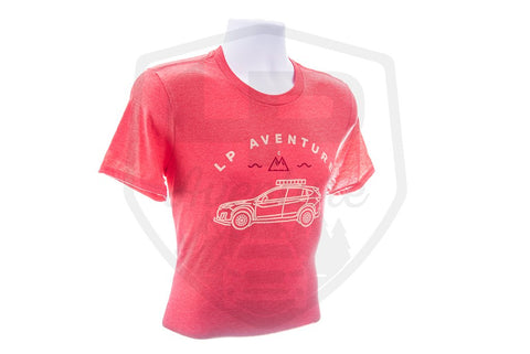 T-Shirt LP Aventure - Crosstrek - Red