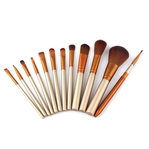 Vander Professional 12 Pcs Make Up Brushes