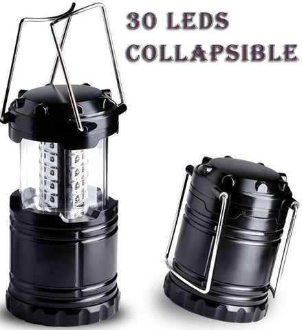 Ultra Bright Collapsible 30 Led Lightweight Camping Lantern