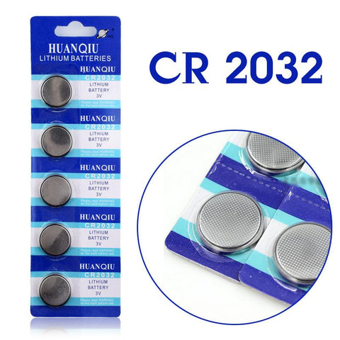 5 Pcs 3V Lithium Coin Button Battery  for LED Dog Collars