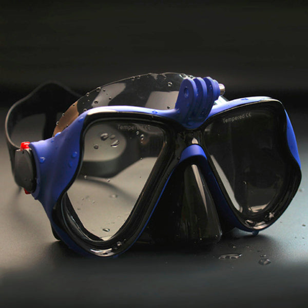 Diving Mask with GoPro Attachment