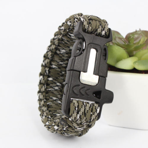 15-IN-1 SURVIVAL BRACELET