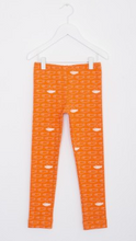 Legging Orange Motif Poisson-Pantalon-Tale Me
