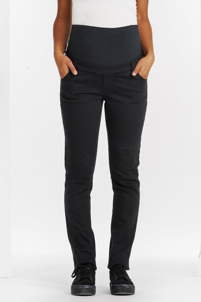 Pantalon Slim Confortable Noir-Pantalon-Tale Me