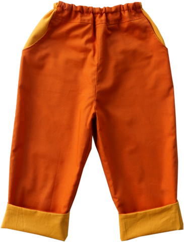 Pantalon Trapeze Orange-Pantalon-Tale Me