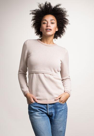 Pull Francis Grossesse et Allaitement Sable-Pull-Tale Me