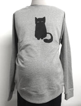 Pull Sérigraphié Chat-Pull-Tale Me