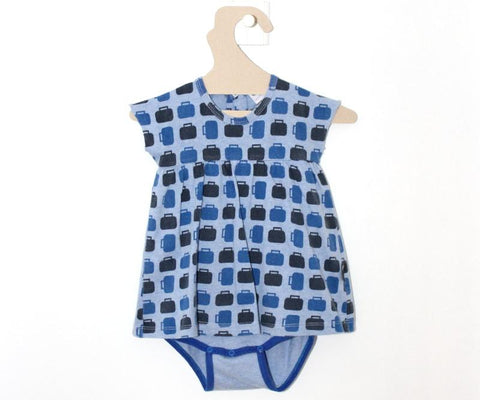 Robe Body Bleue Valises-Robe-Tale Me