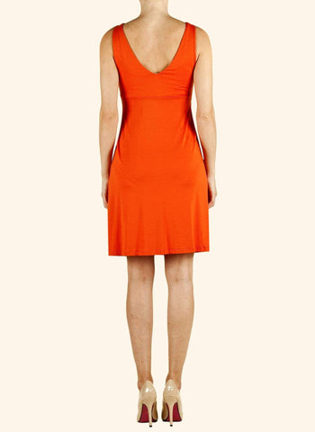 Robe Cache Coeur Orange-Robe-Tale Me