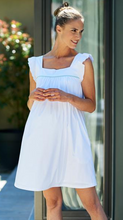 Robe Cotonnade Ample Blanche-Robe-Tale Me