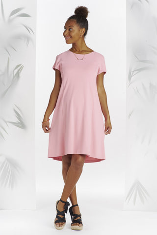 Robe Dos Ouvert Rose-Robe-Tale Me