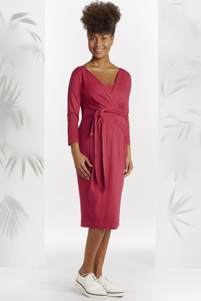 Robe Holly Magenta-Robe-Tale Me