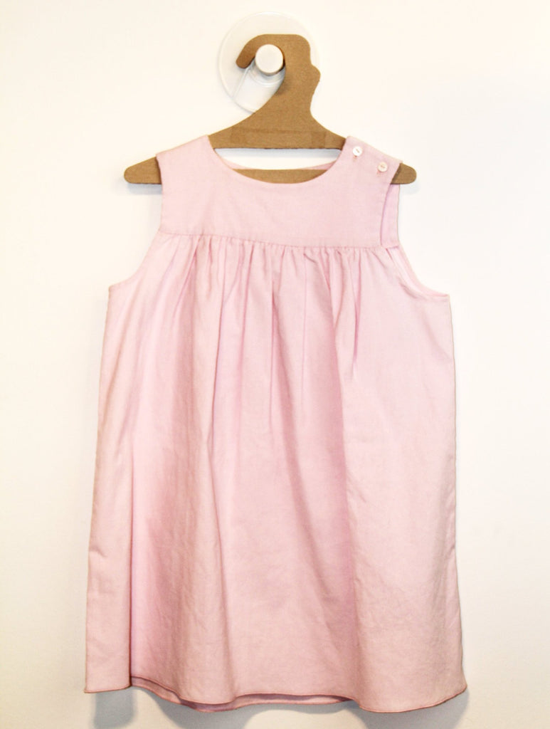 Robe Velours Rose-Robe-Tale Me