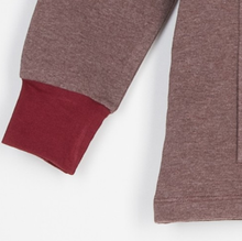 Sweatshirt Recto/Verso Burgundy-Sweat-Tale Me
