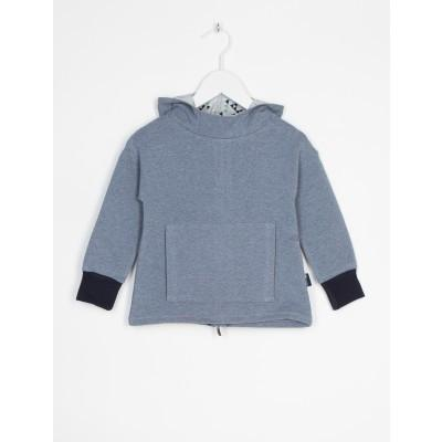 Sweatshirt Recto/Verso gris-Sweat-Tale Me