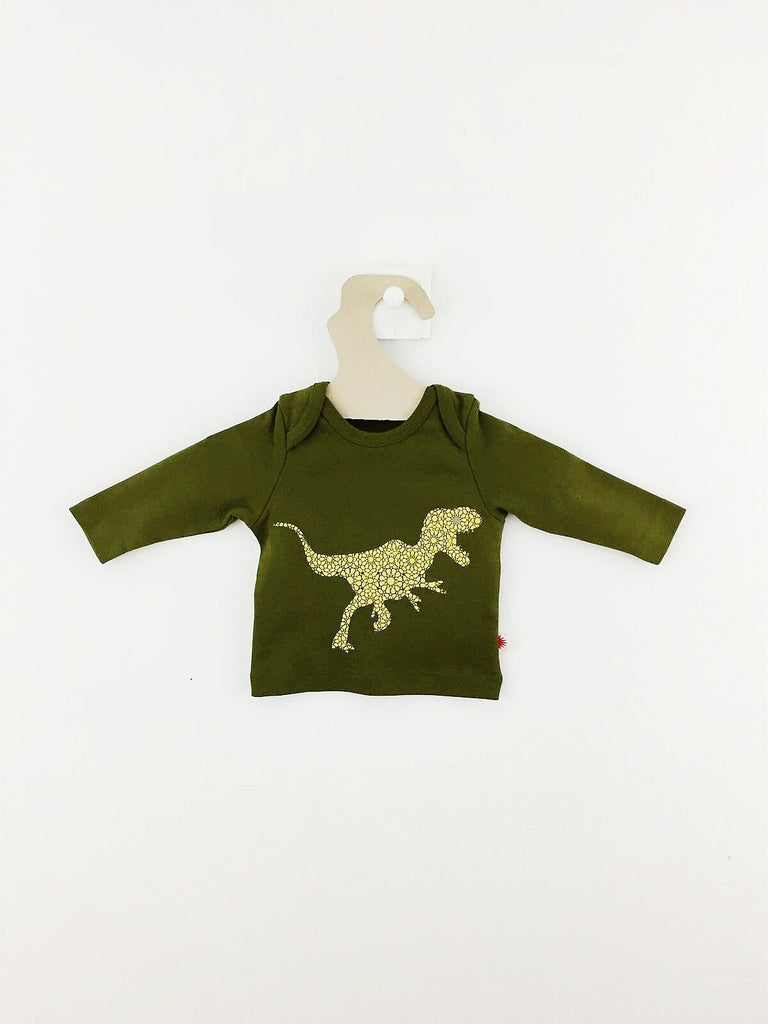 T-shirt Dino-T-shirt manches longues-Tale Me