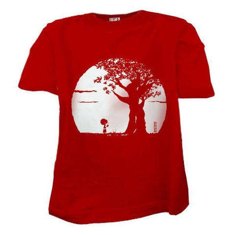 T-shirt Manille Rouge-T-Shirt manches courtes-Tale Me