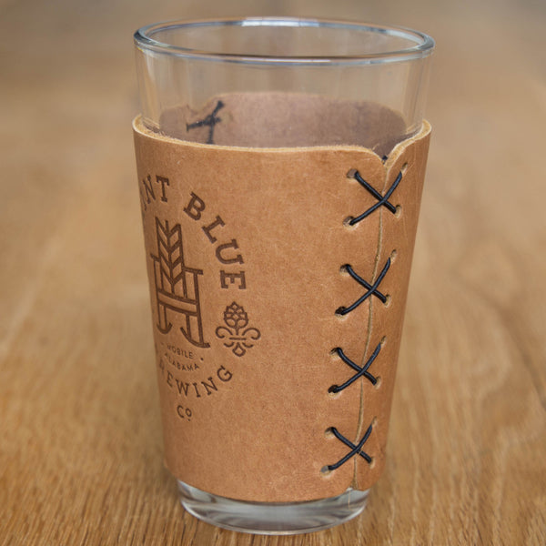 Leather Pint Sleeve