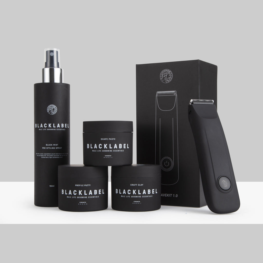 3 Stylers, One Black Mist and Shave Kit 1.0 (4601001377850)