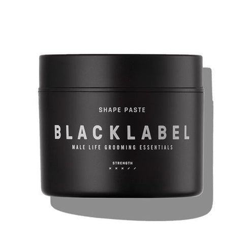 The perfect mens hair paste by black label grooming. Increase volume and texture with this medium hold matte finish hair paste.