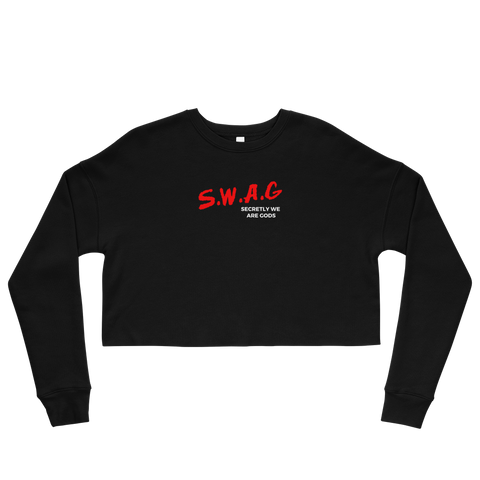 SWAG D Crop Sweatshirt