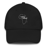 Going Home Official Dad Hat White
