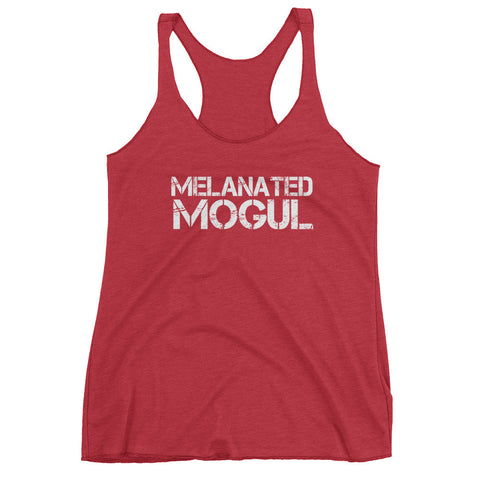 Melanated Mogul White Women's tank top