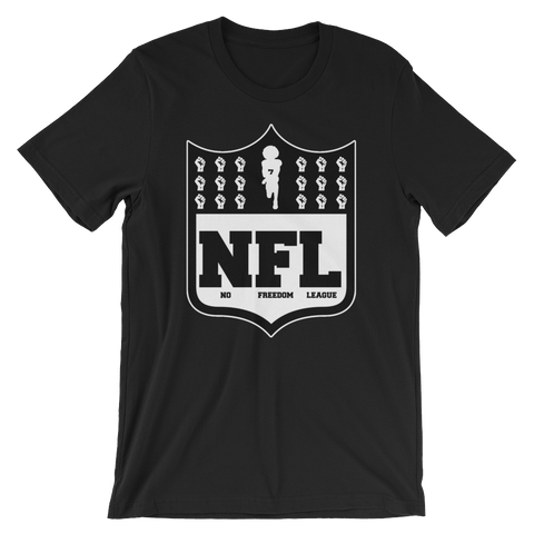 No Freedom League Short-Sleeve Unisex T-Shirt