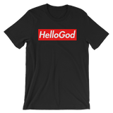 Hello God Short-Sleeve Unisex T-Shirt
