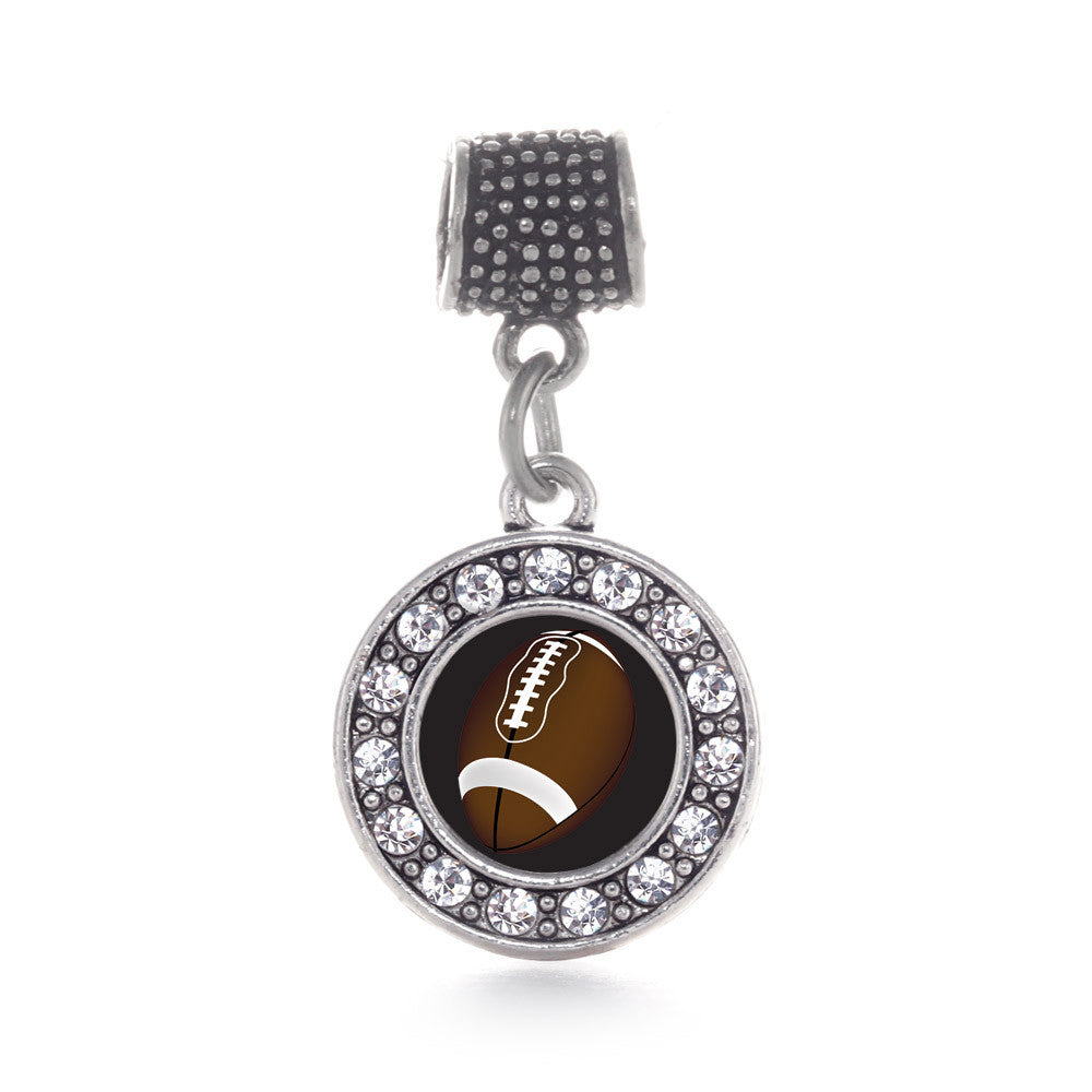 Football Lovers Circle Charm