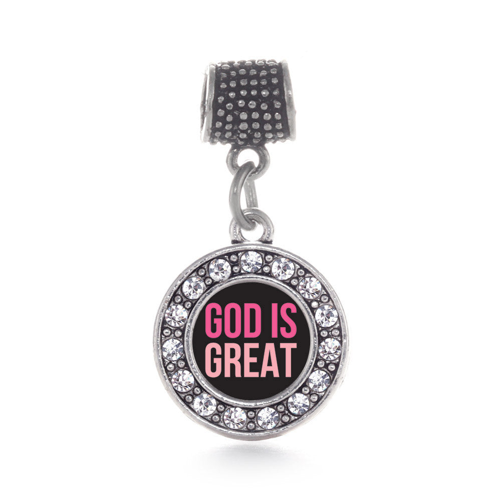 God Is Great Circle Charm