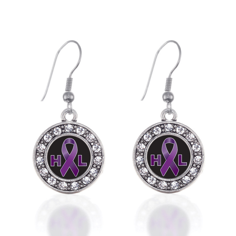 Hodgkin's Lymphoma Support Circle Charm