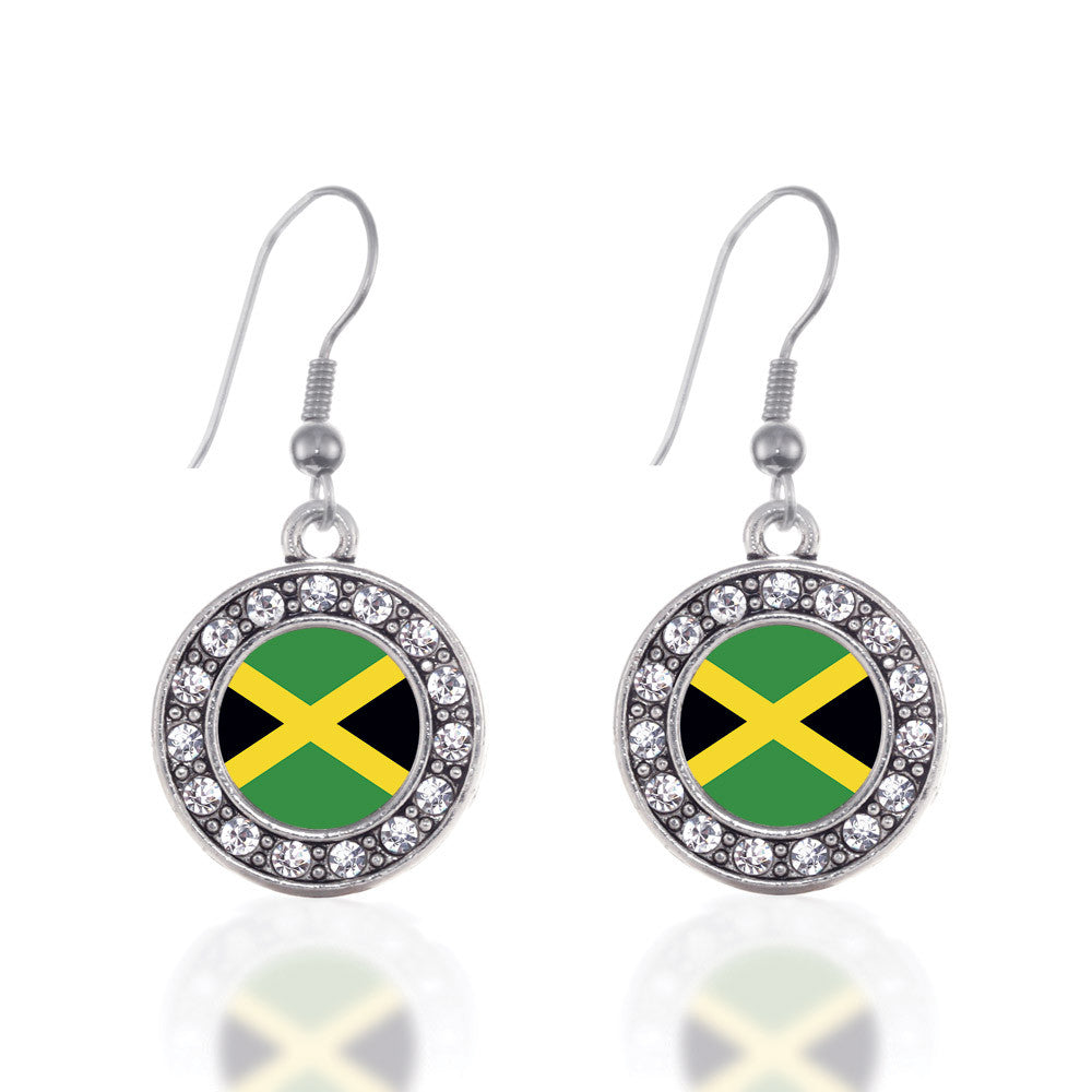 Jamaican Flag Circle Charm