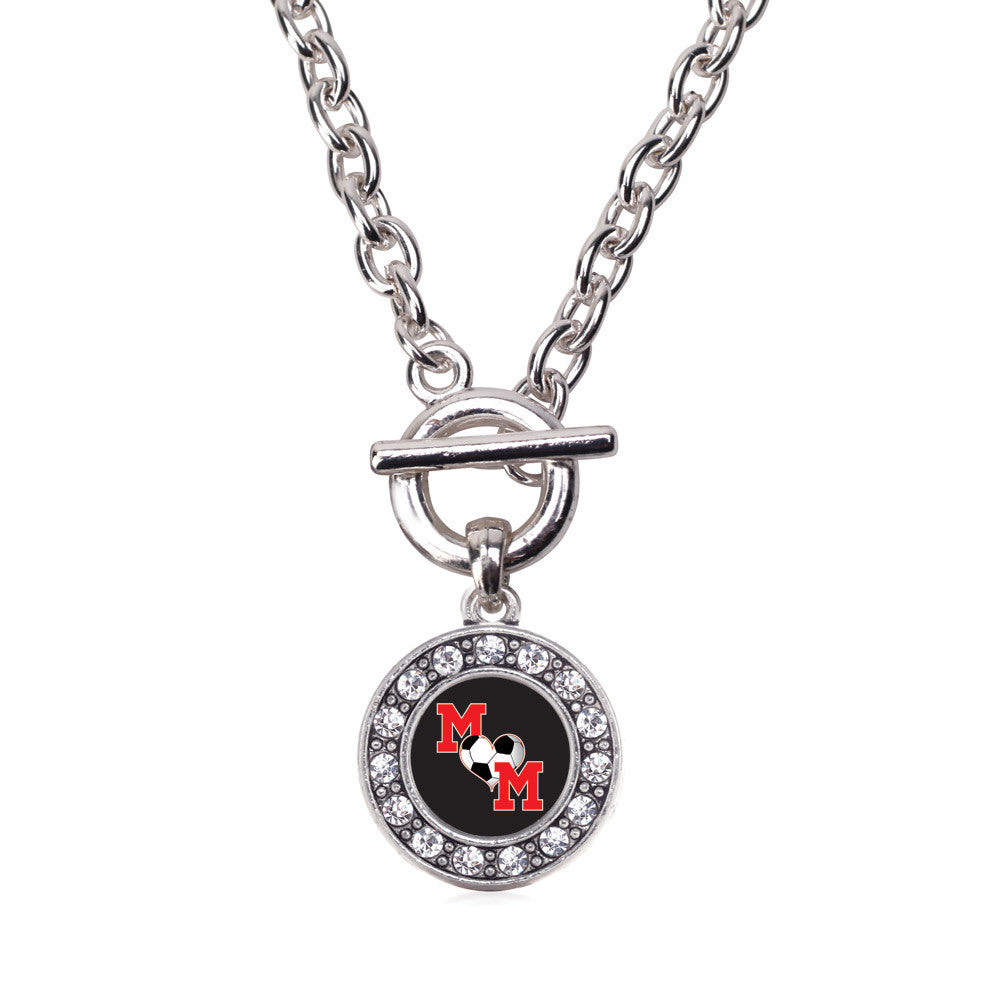 Soccer Mom Circle Charm