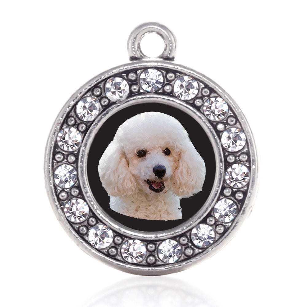 The Poodle Circle Charm