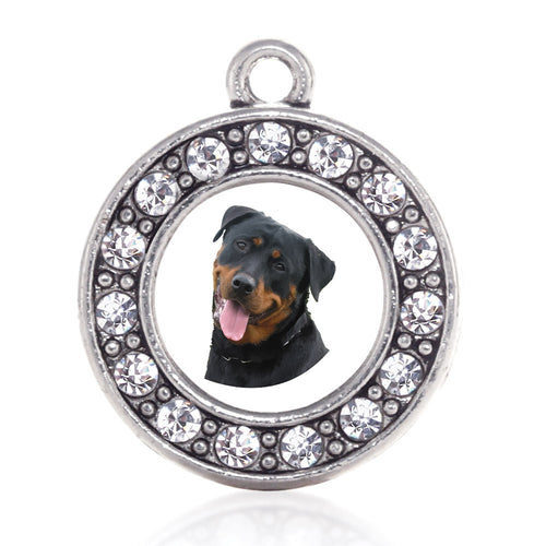 The Rottweiler Circle Charm