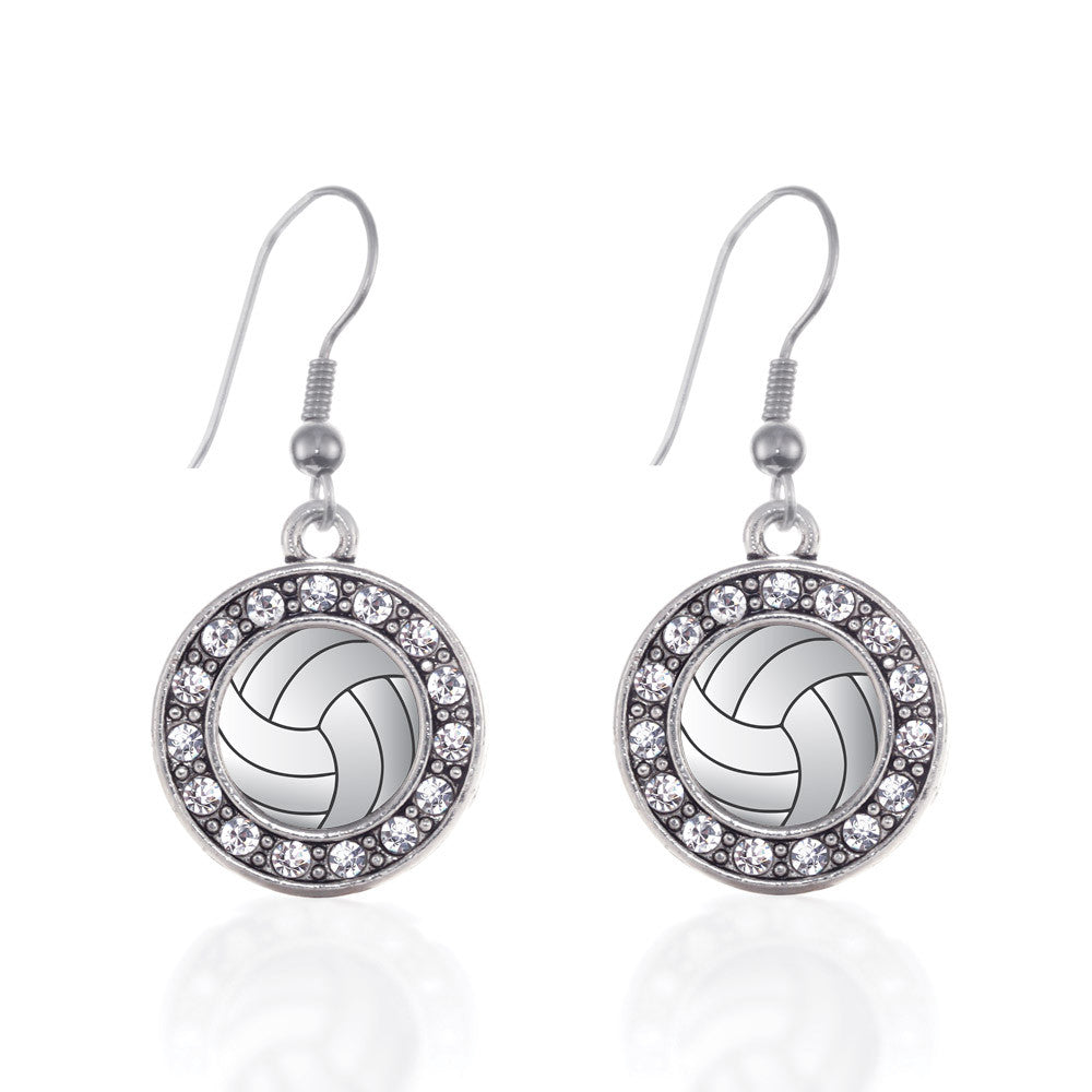 Volleyball Circle Charm