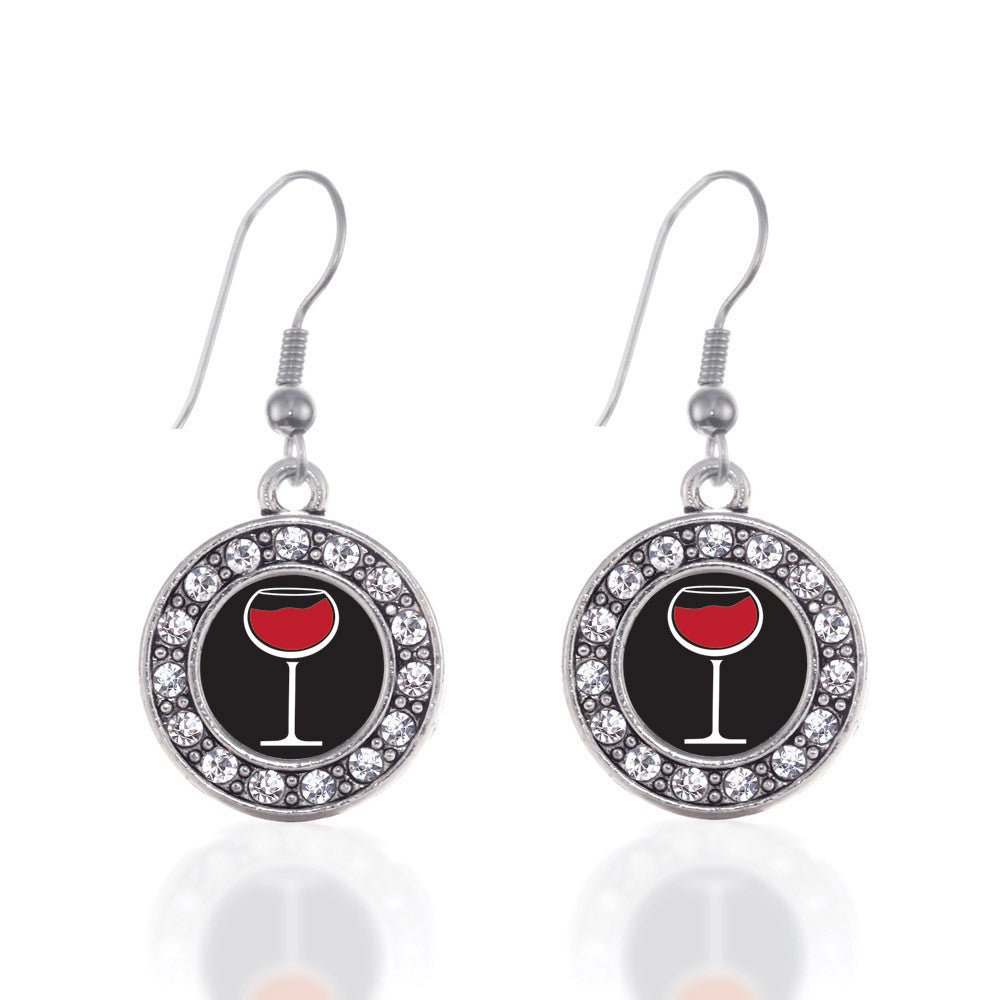 Wine Lovers Circle Charm