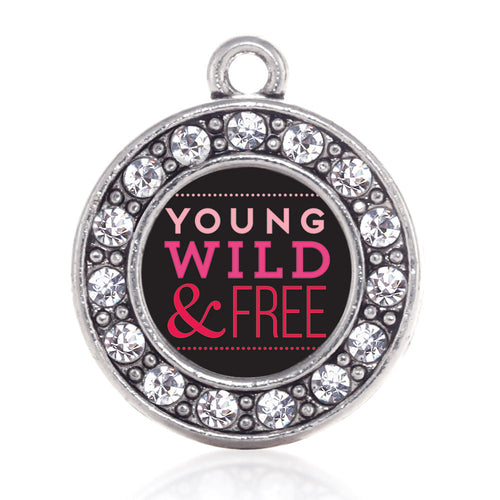 Young Wild And Free Circle Charm