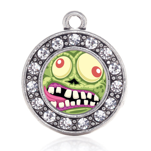 Hungry Zombie Circle Charm
