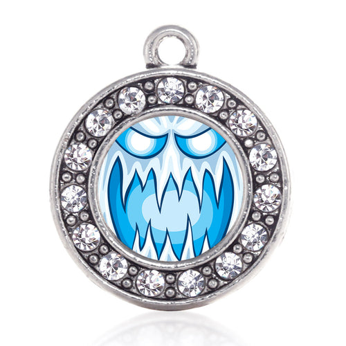 Haunting Ghost Circle Charm
