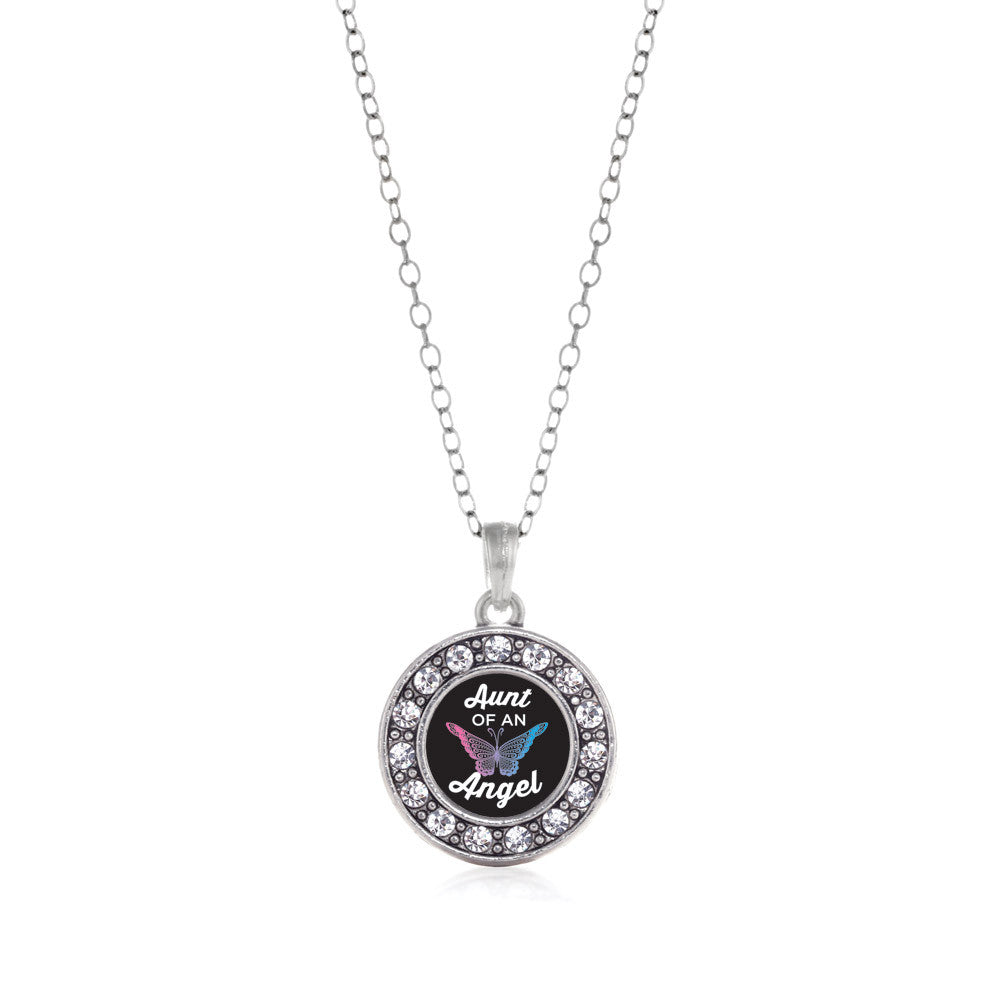 Aunt Of An Angel Circle Charm