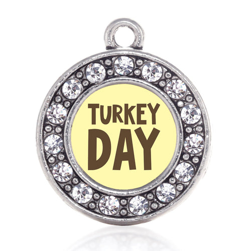 Turkey Day Circle Charm