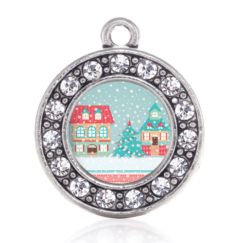 Winter Wonderland Circle Charm