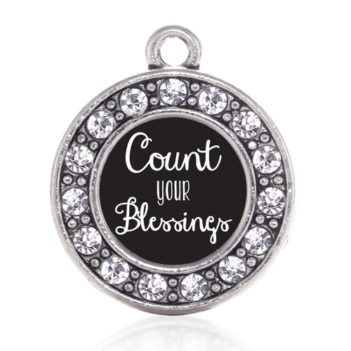 Count Your Blessings Circle Charm