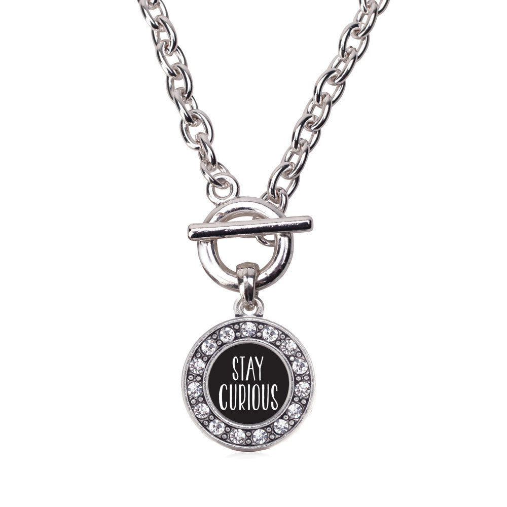Stay Curious Circle Charm