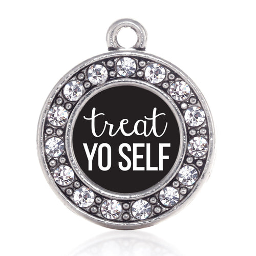 Treat Yo-self Circle Charm