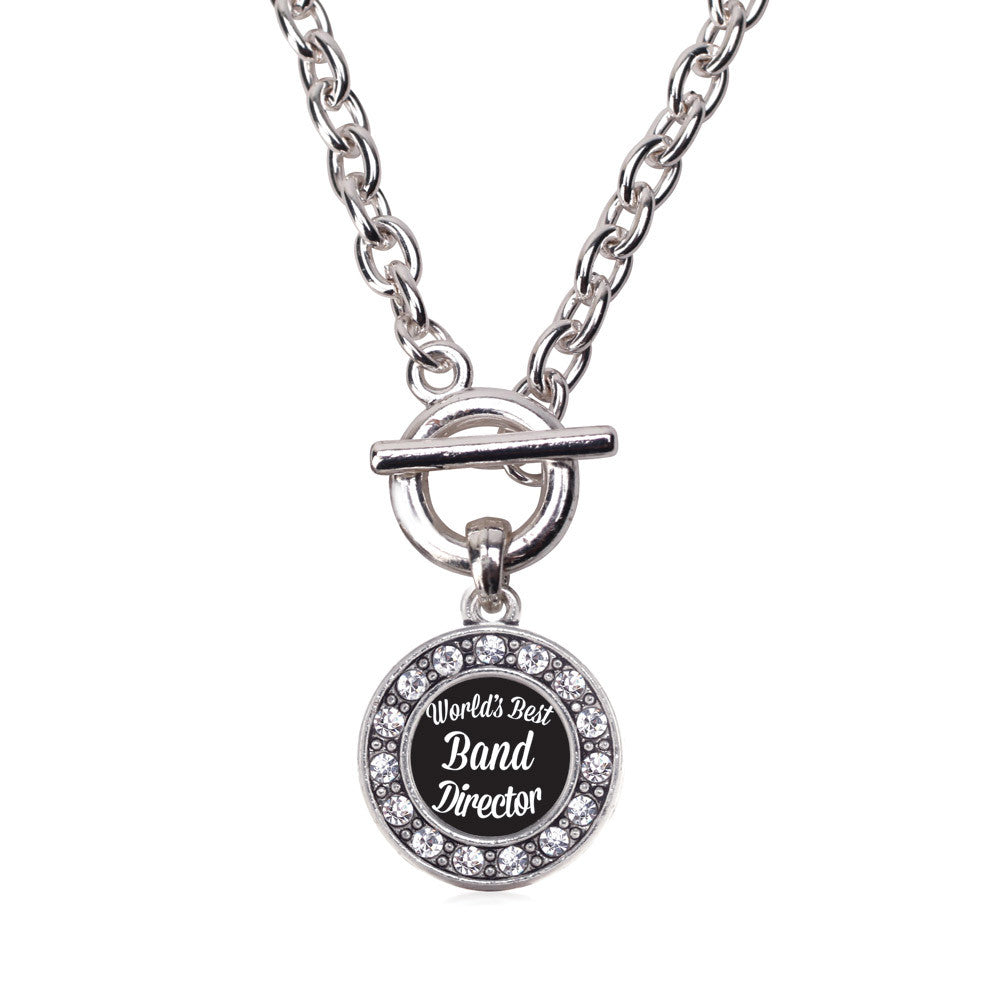 World's Best Band Director Circle Charm