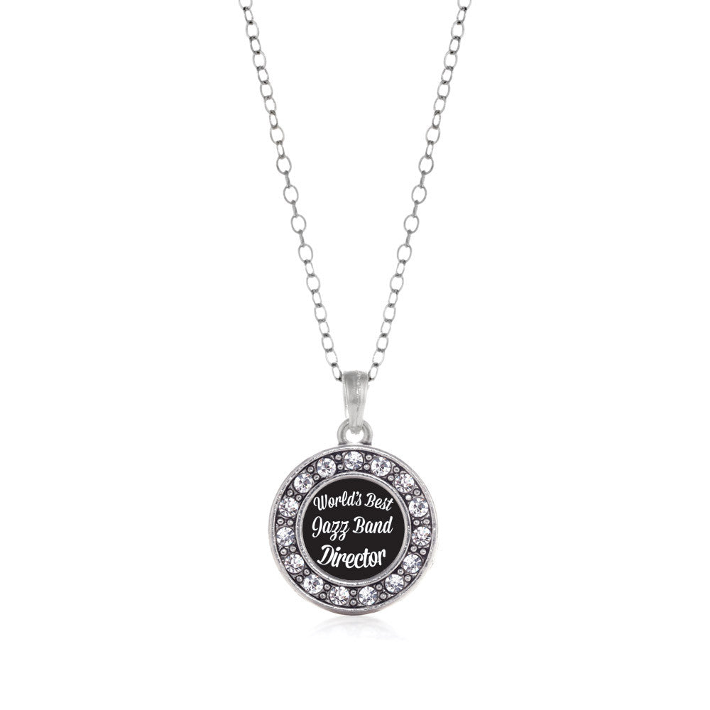 World's Best Jazz Band Director Circle Charm