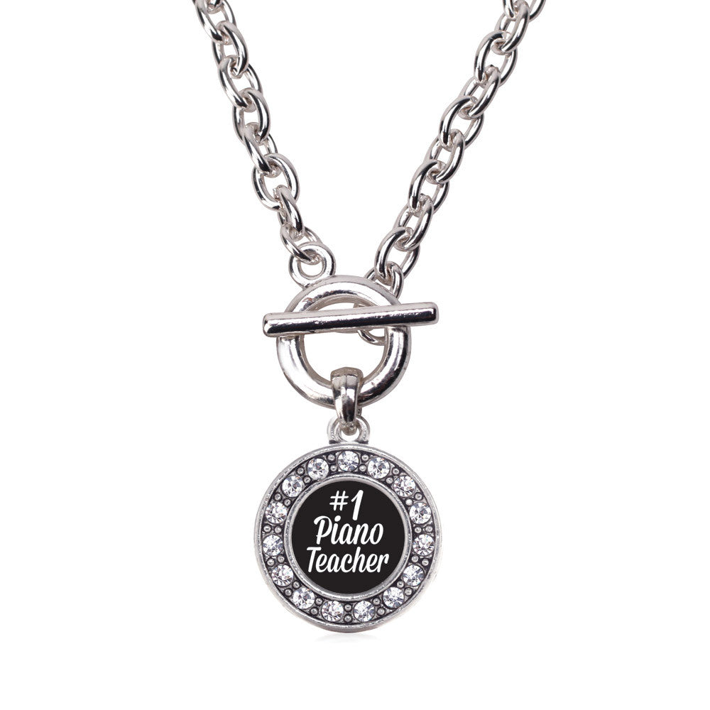 #1 Piano Teacher Circle Charm